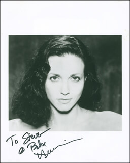 BEBE NEUWIRTH - AUTOGRAPHED INSCRIBED PHOTOGRAPH