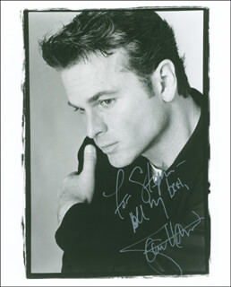 SAM HARRIS - AUTOGRAPHED INSCRIBED PHOTOGRAPH
