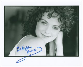 MELISSA ERRICO - AUTOGRAPHED SIGNED PHOTOGRAPH