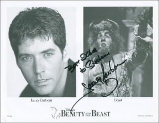 JAMES BARBOUR - AUTOGRAPHED INSCRIBED PHOTOGRAPH