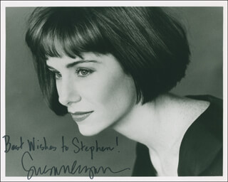 SUSAN EGAN - AUTOGRAPHED INSCRIBED PHOTOGRAPH