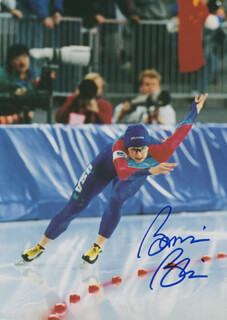 BONNIE BLAIR - AUTOGRAPHED SIGNED PHOTOGRAPH