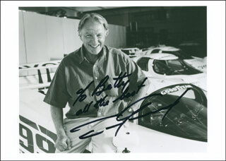 DAN GURNEY - AUTOGRAPHED INSCRIBED PHOTOGRAPH