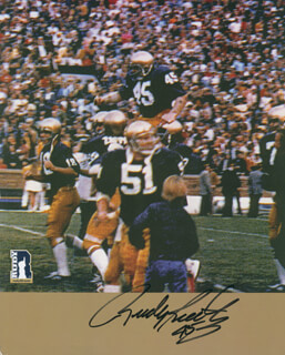RUDY RUETTIGER - PRINTED PHOTOGRAPH SIGNED IN INK
