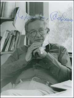 PHILIP W. ANDERSON - AUTOGRAPHED SIGNED PHOTOGRAPH