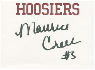 MAURICE CREEK - AUTOGRAPH CO-SIGNED BY: VICTOR OLADIPO