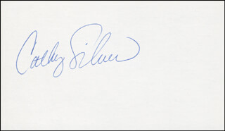CATHY SILVERS - AUTOGRAPH