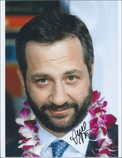 Autographs: JUDD APATOW - PHOTOGRAPH SIGNED