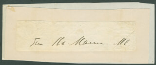 JAMES ROBERT MANN - AUTOGRAPH