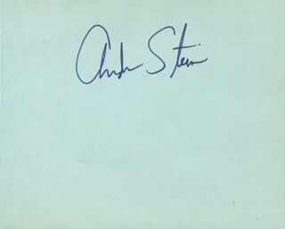 ANDREW STEIN - AUTOGRAPH