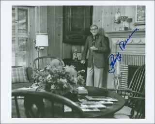 GEORGE BURNS - AUTOGRAPHED SIGNED PHOTOGRAPH