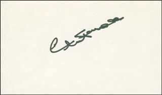 CHARLES FARRELL - AUTOGRAPH