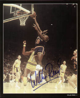 WILLIS REED - BOOK SIGNED