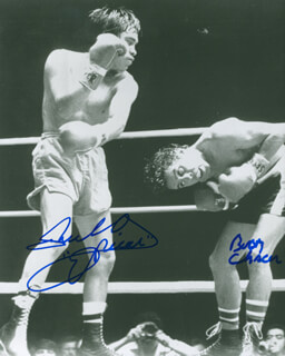RUBEN OLIVARES - AUTOGRAPHED SIGNED PHOTOGRAPH CO-SIGNED BY: BOBBY CHACON