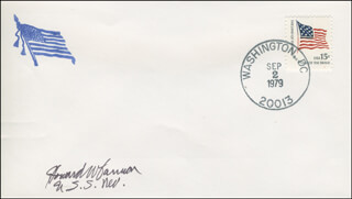 HOWARD W. CANNON - ENVELOPE SIGNED