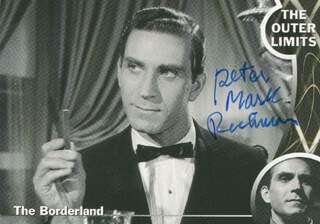 Autographs: PETER MARK RICHMAN - TRADING/SPORTS CARD SIGNED
