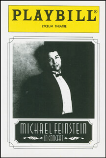 MICHAEL FEINSTEIN - TRADING/SPORTS CARD UNSIGNED