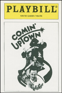 Autographs: COMIN' UPTOWN PLAY CAST - TRADING/SPORTS CARD UNSIGNED