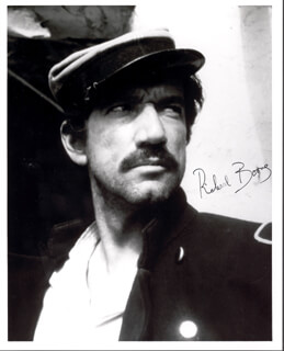 RICHARD BOONE - AUTOGRAPHED SIGNED PHOTOGRAPH