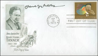 DAVE GERARD - FIRST DAY COVER SIGNED