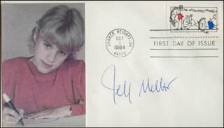 JEFF MILLAR - FIRST DAY COVER SIGNED