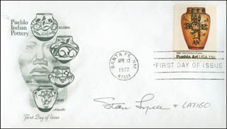 STAN LYNDE - FIRST DAY COVER SIGNED