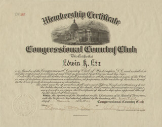 PRESIDENT HERBERT HOOVER - DOCUMENT SIGNED 03/20/1923