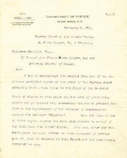 PRESIDENT WILLIAM H. TAFT - TYPED LETTER SIGNED 02/06/1891