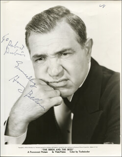 HARRY BELLAVER - AUTOGRAPHED INSCRIBED PHOTOGRAPH