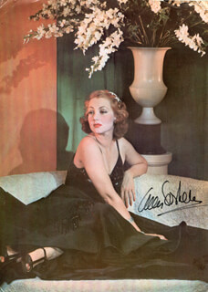 ANN SOTHERN - MAGAZINE PHOTOGRAPH SIGNED