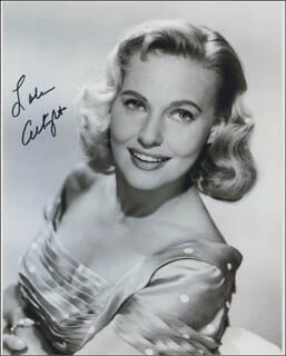 Autographs: LOLA ALBRIGHT - PHOTOGRAPH SIGNED 04/02/2013