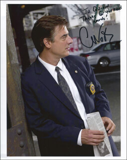 CHRIS NOTH - AUTOGRAPHED INSCRIBED PHOTOGRAPH
