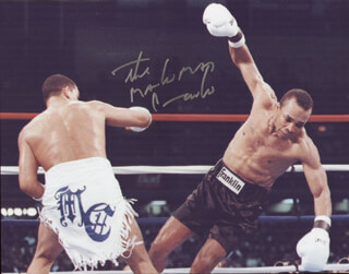 HECTOR MACHO CAMACHO - AUTOGRAPHED SIGNED PHOTOGRAPH