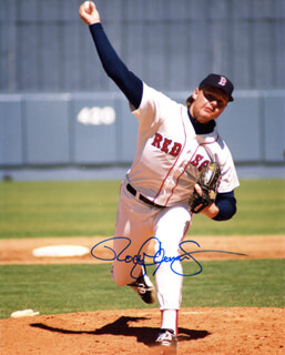 ROGER CLEMENS - AUTOGRAPHED SIGNED PHOTOGRAPH