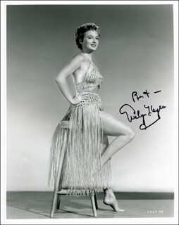 EVELYN KEYES - AUTOGRAPHED SIGNED PHOTOGRAPH