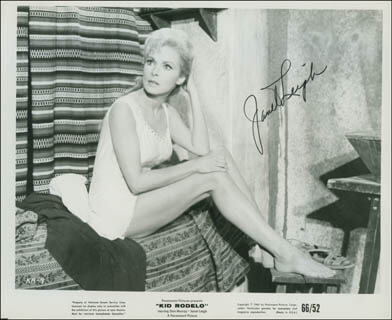 JANET LEIGH - PRINTED PHOTOGRAPH SIGNED IN INK