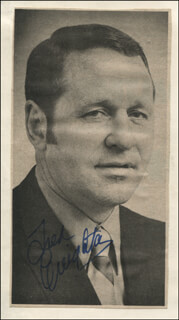 FRED CREIGHTON - NEWSPAPER PHOTOGRAPH SIGNED