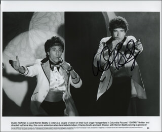 WARREN BEATTY - AUTOGRAPHED SIGNED PHOTOGRAPH