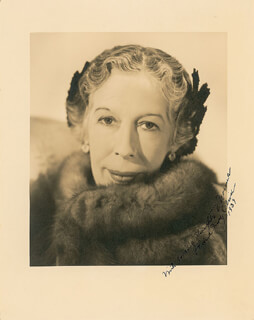 EDNA MAY OLIVER - AUTOGRAPHED INSCRIBED PHOTOGRAPH 1939
