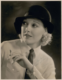 THELMA TODD - AUTOGRAPHED INSCRIBED PHOTOGRAPH 1932