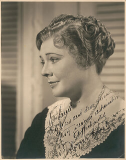 MARJORIE RAMBEAU - AUTOGRAPHED INSCRIBED PHOTOGRAPH