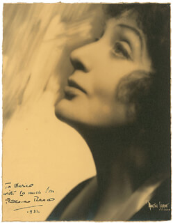 FLORENCE REED - AUTOGRAPHED INSCRIBED PHOTOGRAPH 1932