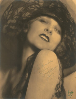 DOROTHY REVIER - AUTOGRAPHED INSCRIBED PHOTOGRAPH 1928 CO-SIGNED BY: RUSSELL BALL
