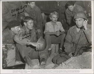 CHUCK CONNORS - PRINTED PHOTOGRAPH SIGNED IN INK