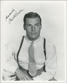 BUSTER CRABBE - AUTOGRAPHED SIGNED PHOTOGRAPH