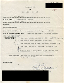 NEIL FLANAGAN - TYPED RESUME SIGNED