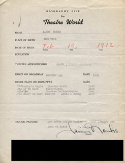 JAMES MONKS - TYPED RESUME SIGNED
