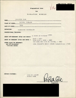 RODERICK COOK - TYPED RESUME SIGNED