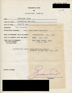 GERALDINE COURT - TYPED RESUME SIGNED