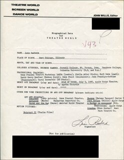 LOIS RAEBECK - TYPED RESUME SIGNED
